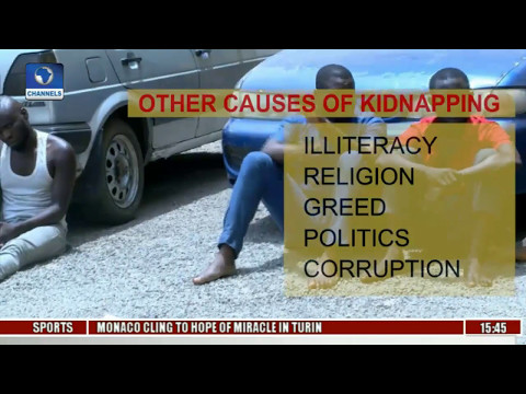 Is High Unemployment Rate Responsible For Increased Kidnappings,Other Crimes In Nigeria Pt 2