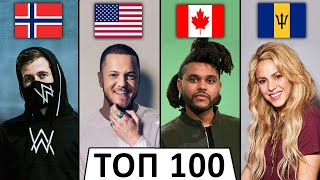 ТОП 100 МИРОВЫХ клипов по ПРОСМОТРАМ | Лучшие зарубежные песни (Ноябрь 2019)