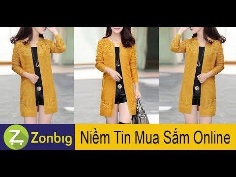 [Zonbig.com] – Áo Khoác Len Tay Dài Xinh Xắn