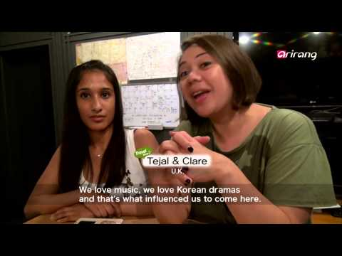 Travel Story S2Ep14 Friends from Spain go off to experience K-pop