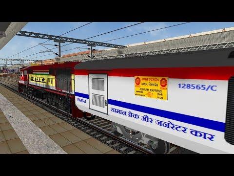Repeat Ashram SF Express (PT) In Train Simulator In Open Rails (MSTS