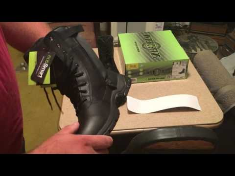 Interceptor Boots unboxing from Wal-Mart