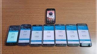 Every Samsung Galaxy Speed Test Comparison !!!