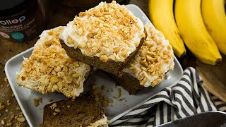 Heather Saffer's Salted Caramel Peanut Butter Banana Bread - Hallmark Channel