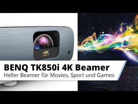 Vorstellung BENQ TK850i - Top 4K Streaming Beamer für Movies, Sport und Gaming im Wohnzimmer