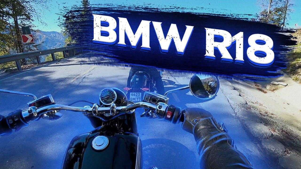 Затестил Немецкий Харлей! Новый круизер BMW R18