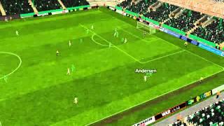 Ludogorets - Milan - Gol di Kenedy 75� minuto