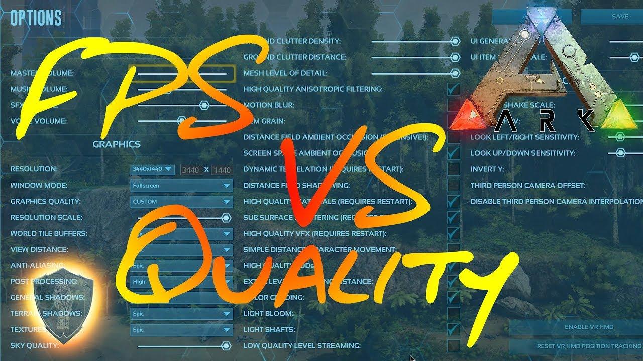 Ark: Survival Evolved - Optimize Your Settings & Get Higher FPS [Ark  Academy]