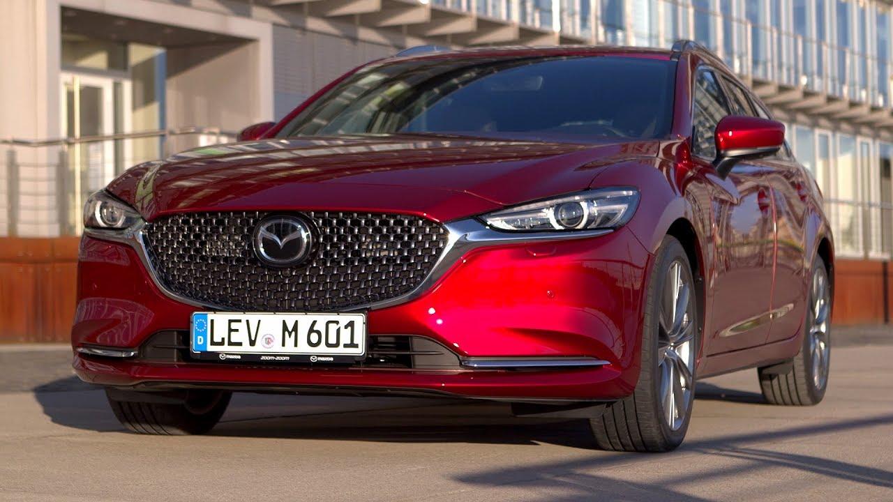 2018 Mazda 6 Wagon Driving Interior Exterior Eu Spec