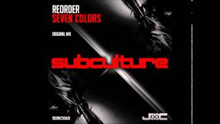 "ReOrder ""Seven Colors"" (Original Mix)"