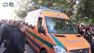 بالفيديو| تشييع جنازة طالبة صيدلة الإسكندرية ضحية أتوبيس نويبع