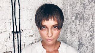 how to cut short haircut for women: choppy bangs (fringe)