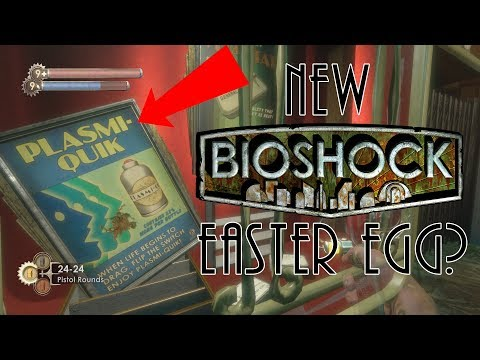 Bioshock New Potential Undiscovered Easter Egg Found? | New Bioshock Easter Egg Found 10 Years Later |