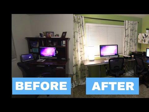 office make over. IKEA Office Makeover Make Over