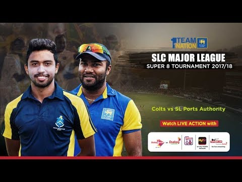 Colts CC vs SL Ports Authority - SLC Major League Super 8 To