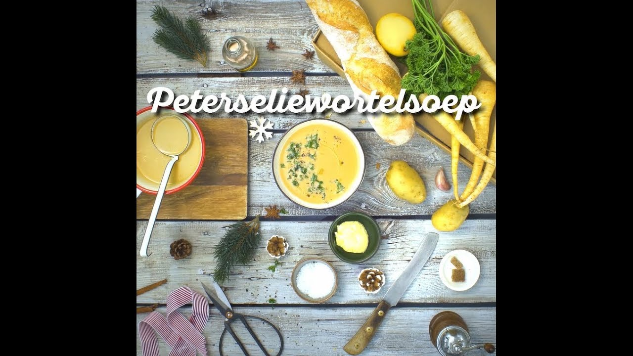 Uit Pauline's Keuken Hellofresh Peterseliewortelsoep Hellofresh Kerstbox
