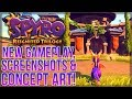 Spyro Reignited Trilogy - NEW Gameplay, Screenshots and Concept Art!