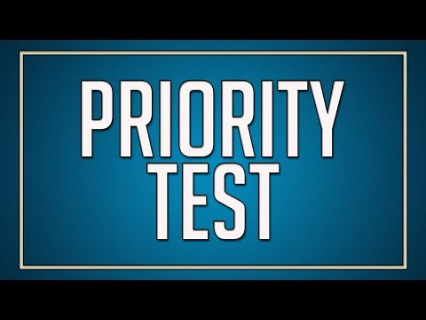 Priority Test