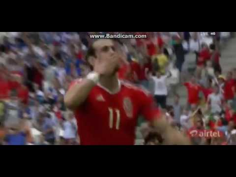 Gareth Bale AMAZING Freekick Goal vs Slovakia   Wales 1 0 Slovakia   11 06 2016 HD