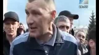 Митинг на Весенней площади.  Междуреченск