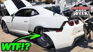 The Tires SHOOK His Bumper OFF! thumbnail