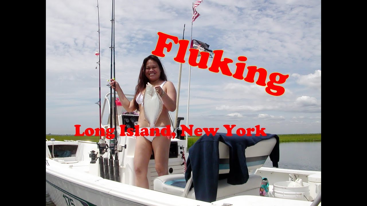 Fluke Fishing On The Great Southbay Long Island New York