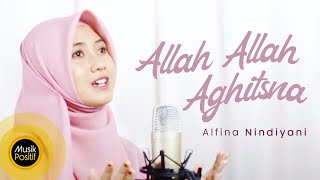 Alfina Nindiyani - Allah Allah Aghitsna (Cover Music Video)