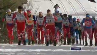 Лыжные гонки. Кубок мира. STAGE 6 OF 8. Этап в Квебеке. Скиатлон. 30 км. Мужчины.
