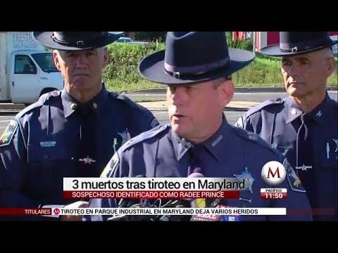 Tiroteo en parque empresarial de Maryland deja 3 muertos