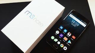 Meizu M3 Note - Распаковка и Первые Впечатления