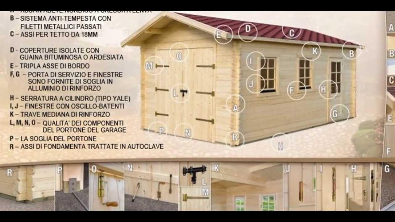 Garage in legno garage prefabbricati in legno di alta for Casette italia
