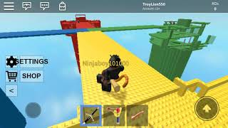 Playing Roblox Doomsmire it's fun!
