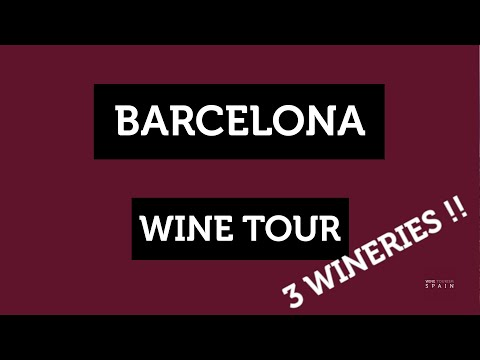 Barcelona 3 wineries tour