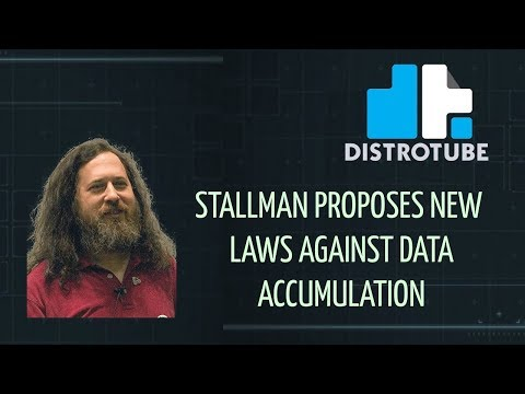 Stallman Proposes New Laws Against Data Accumulation