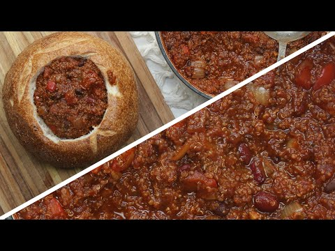 4 Healthy Vegan Bread Bowl Soups Healthy Food Videos