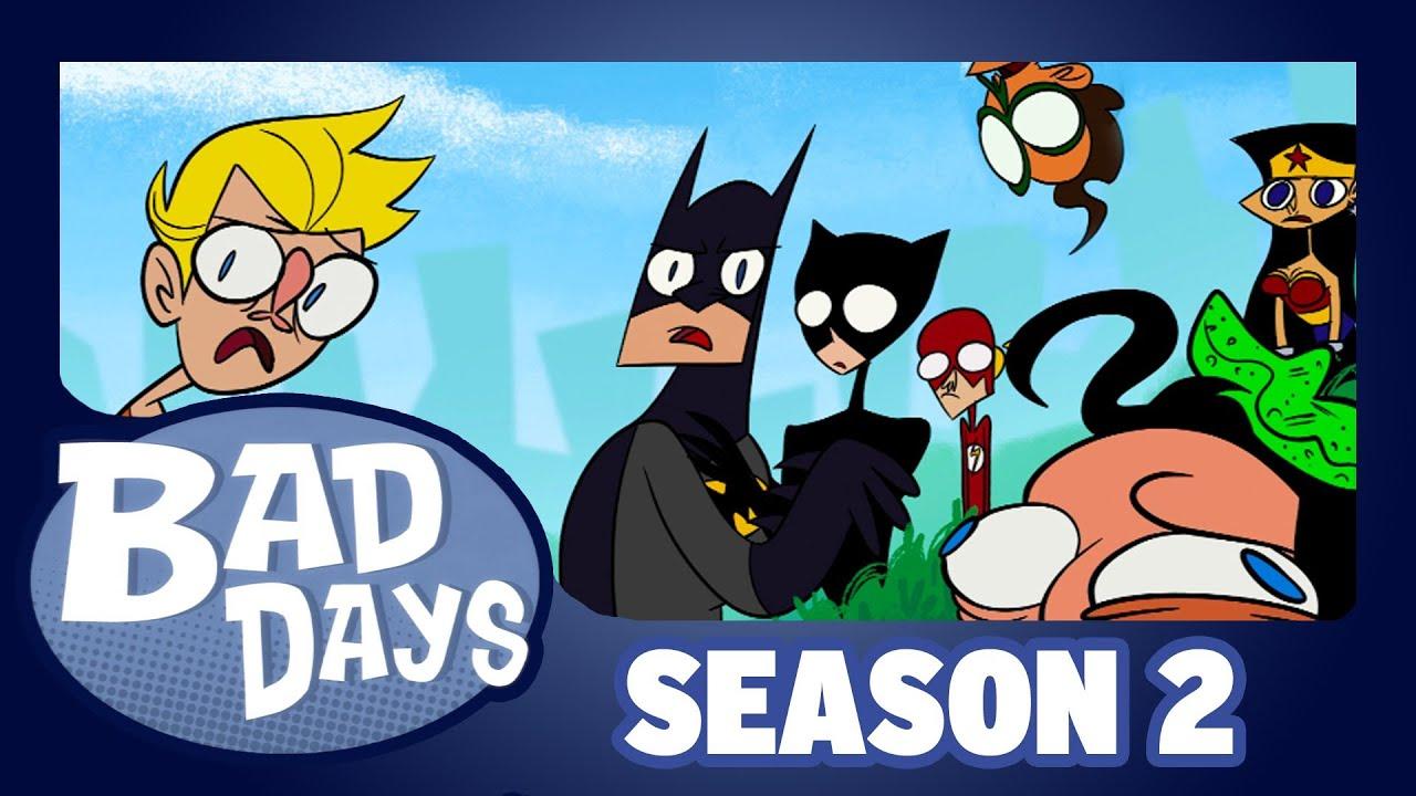 Download Justice League  - Bad Days - Season 2 - Episode  12