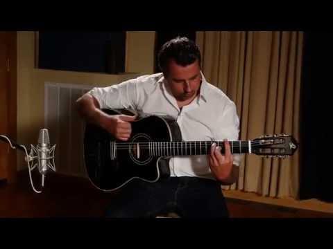 """Ben Woods """"The Elder"""" Flametal - Ortega Guitars"""