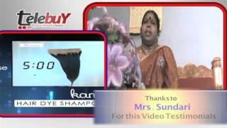 Kami hair  dye  Testimonial by Customer  Sundari
