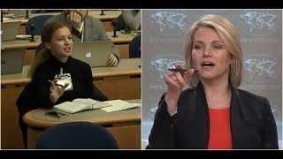 MUST WATCH: Heather Nauert UNLOADS on RT Journalists at Press Briefing