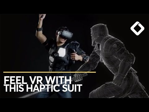 This VR Suit Has 16 Haptic Zones