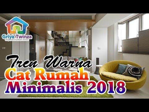 Tren Warna Cat Rumah Minimalis Tahun 2018