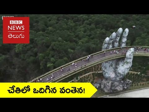 Golden Bridge: Walking Through A God's Hands - BBC News Telugu