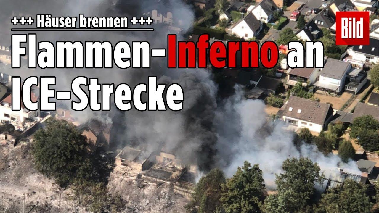 Flächenbrand Siegburg