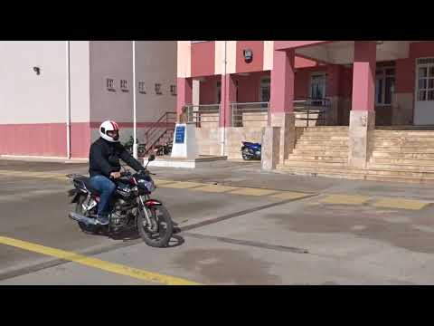 A-A1-A2 MOTORSİKLET DİREKSİYON SINAVI ( MOTOR DİREKSİYON SINAVI OKUL İÇİ PARKURU SEKİZ ÇİZME DAHİL)