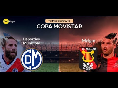 (TIEMPO DE DESCANSO) DEPORTIVO MUNICIPAL vs MELGAR 0 - 2 COPA MOVISTAR