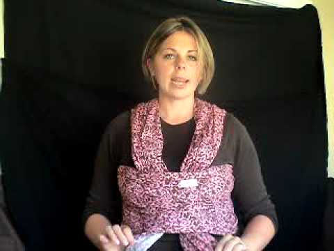 Baby Bum Wrap Video Front Cross Carry Tummy To Tummy Youtube