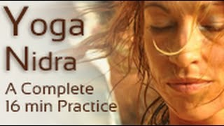 Yoga Nidra - Meditation & Guided Relaxation Training Script