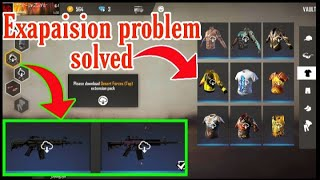 How to download exapaision pack in Free fire exapaision pack problem solved