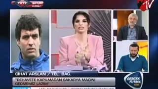 Göztepe Teknik Direktörü Cihat Arslan'dan Açıklamalar (Gerçek Futbol)