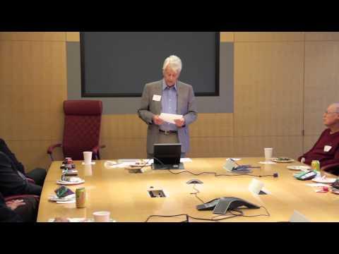 Discussion   Malin Burnham, BS '49, Talks Leadership